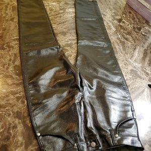 Wrangler Wax Coated Black High-Waisted Jeans 28x34